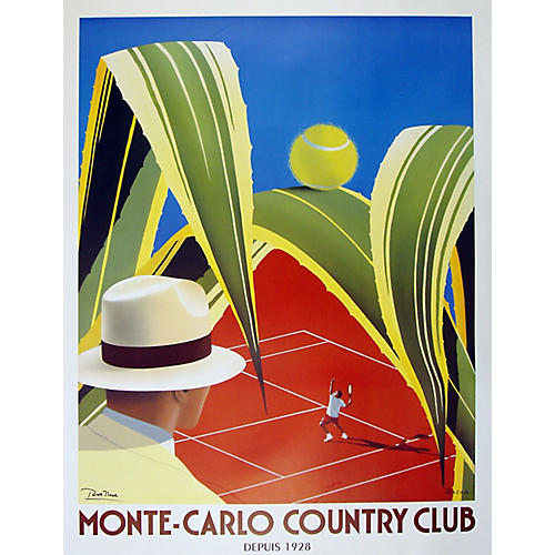 Monte Carlo Country Club Poster