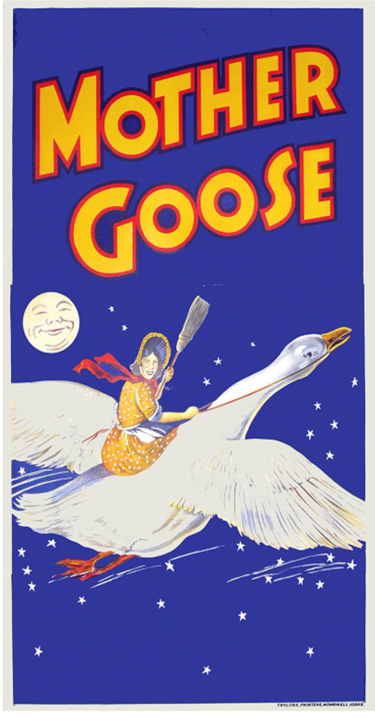 British Mother Goose Poster