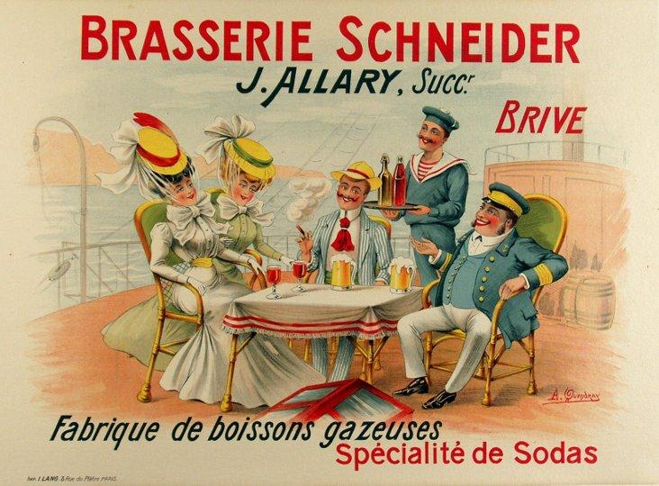 Brasserie Schneider Poster