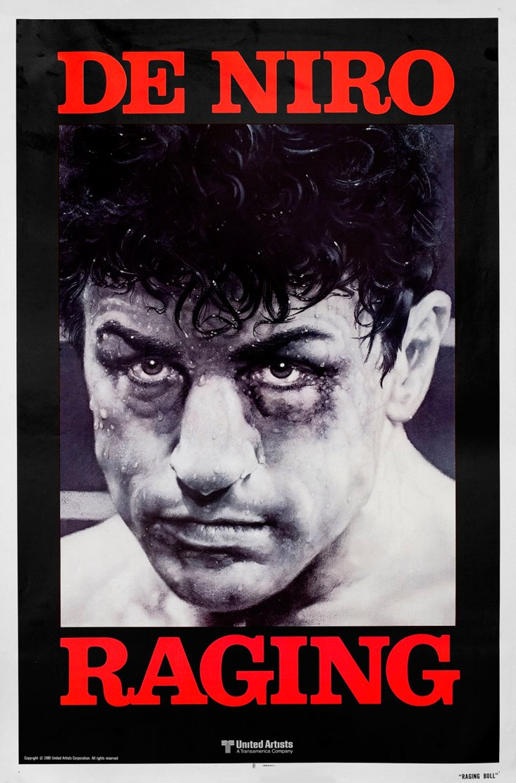 Raging Bull Movie Poster, 1980