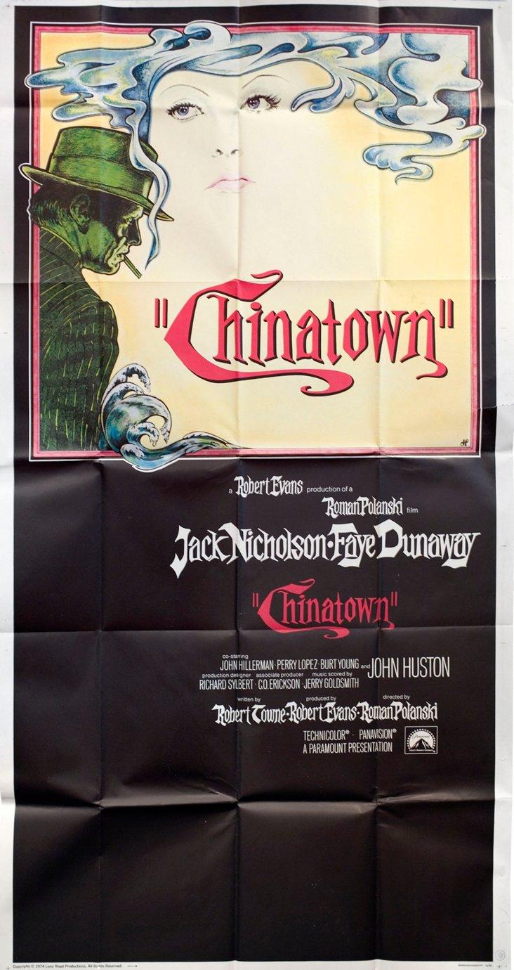 Chinatown Movie Poster, 1974