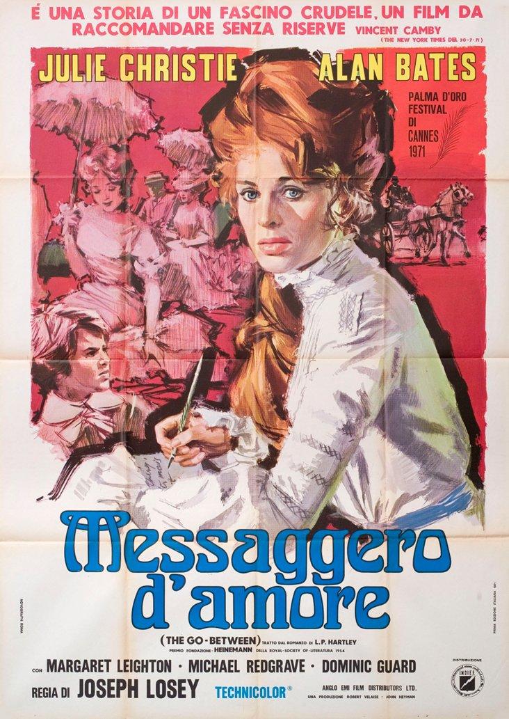 The Go-Between Italian Movie Poster