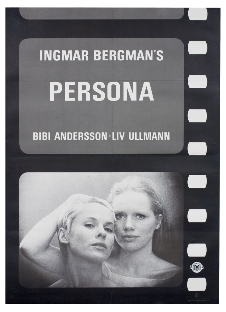 Persona  Movie Poster, 1967