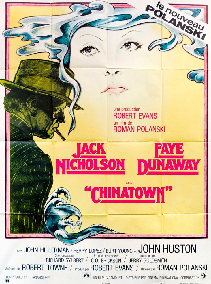 French Chinatown  Movie Poster, 1974