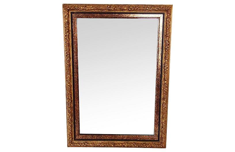 Giltwood Mirror w/ Double Frame