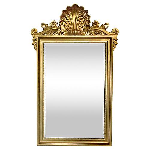 Shell Crest Mirror