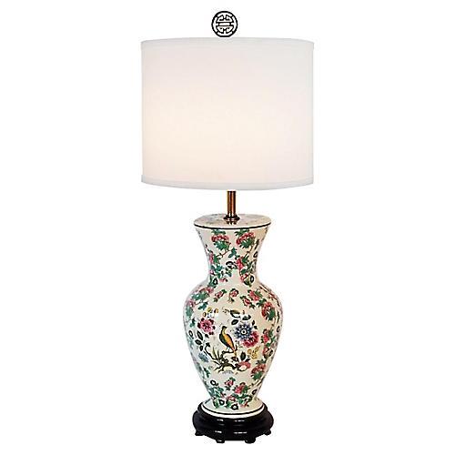 Urn Porcelain Lamp