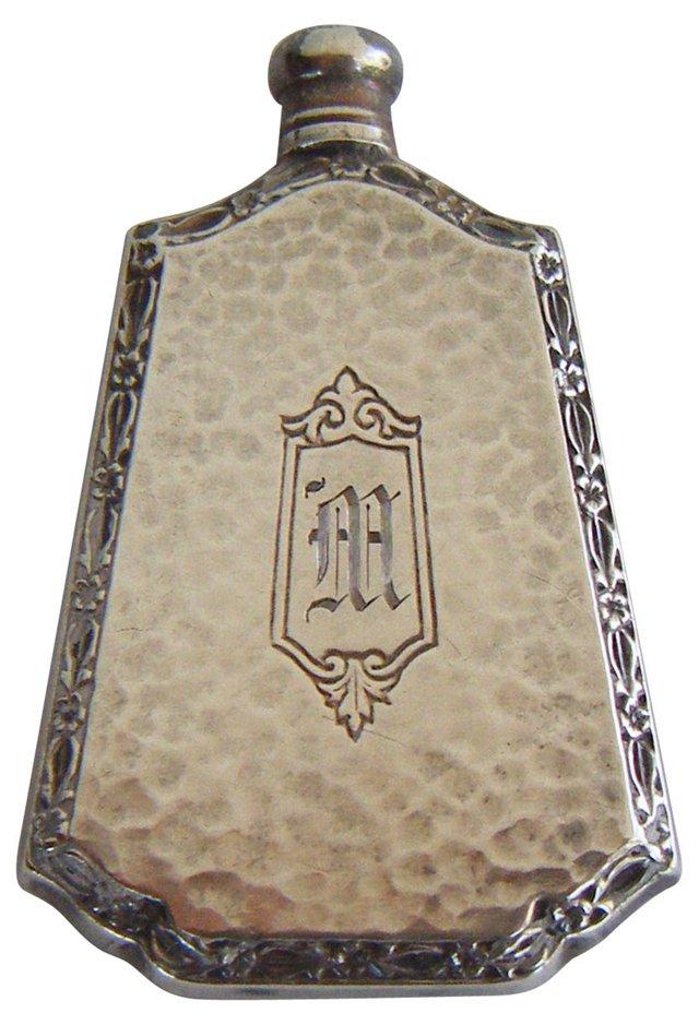 Sterling Monogram Perfume Bottle