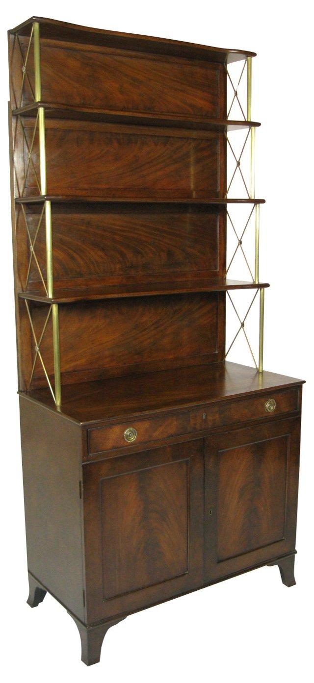 Regency-Style Bookcase