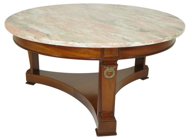 Empire-Style Coffee Table