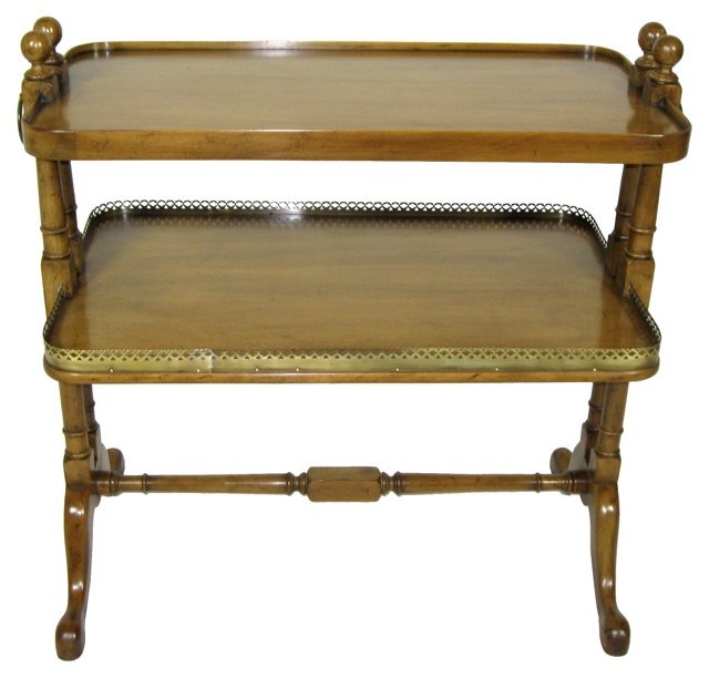Regency-Style End Table