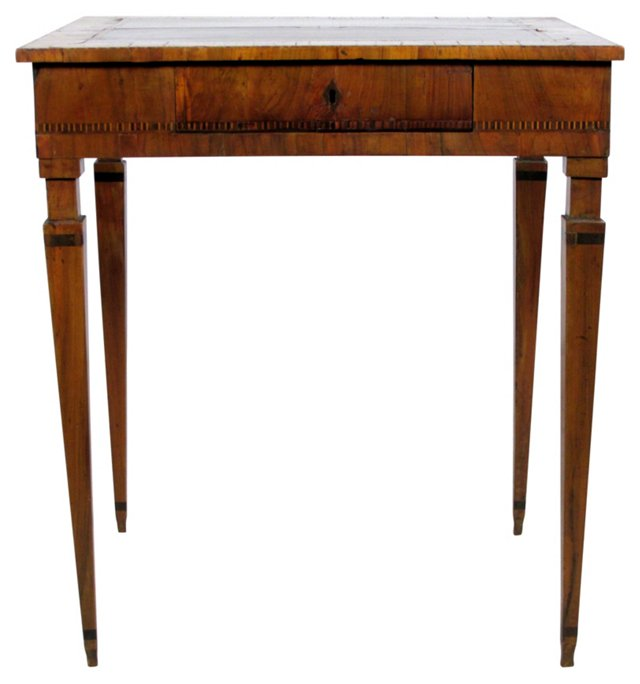 18th-C. Italian Neoclassical Side Table