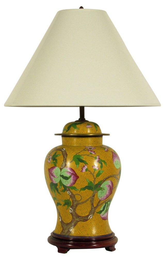 Cloisonné Ginger Jar Lamp