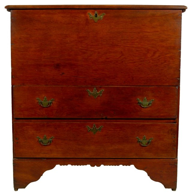 19th-C. Blanket Chest