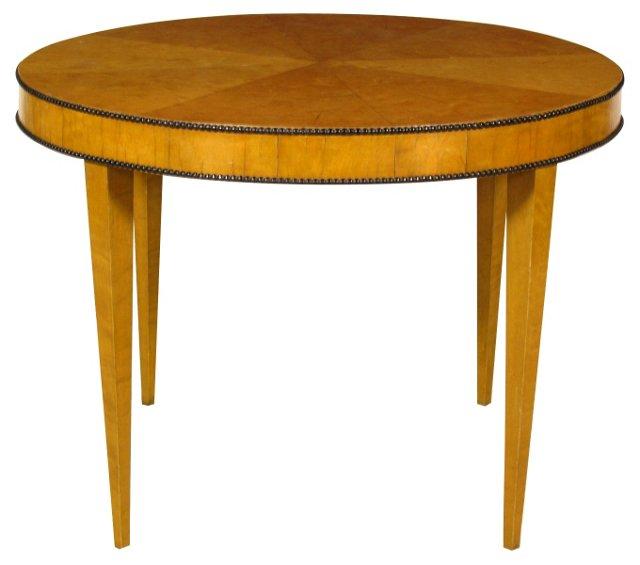 19th-C. Biedermeier Low Table