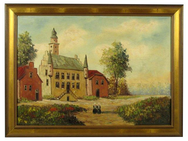 Dutch Town Hall by Jahn