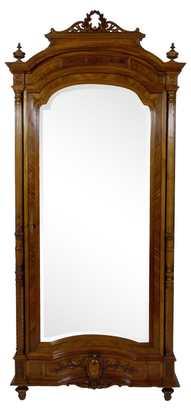 19th-C. French  Louis XVI-Style Armoire