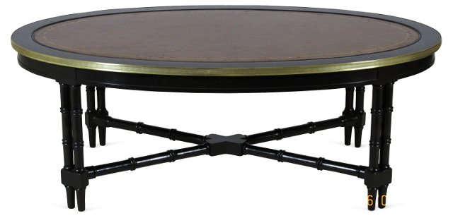 Black Lacquered  Coffee Table