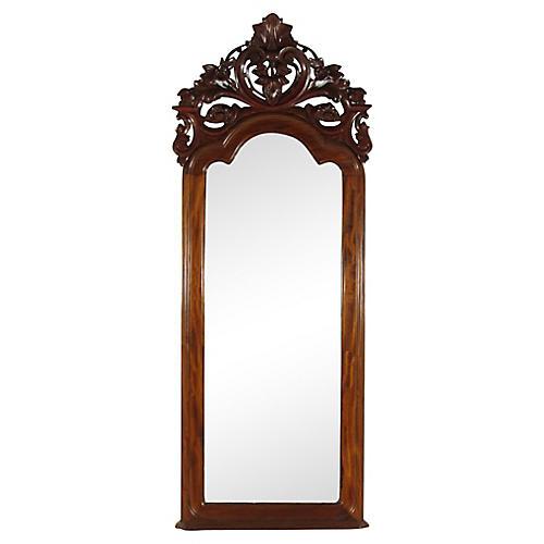 19th-C. Colonial Pier Mirror