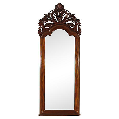 19th-C. Colonial Pier Mirror