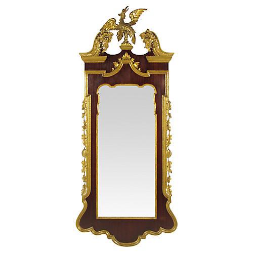 19th-C. Georgian-Style Mirror