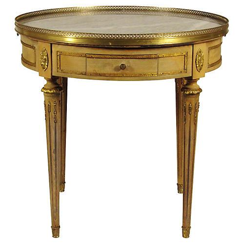 Louis XVI-Style Bouillotte Table
