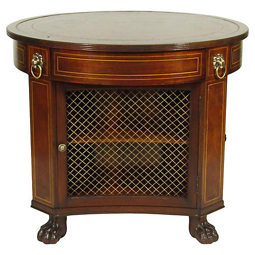 English Regency-Style Library Table