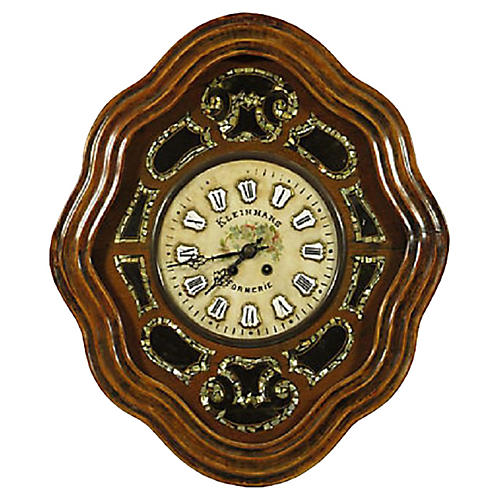 19th-C. French Shop Clock