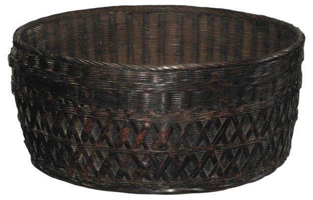 Korean Sewing Basket, C. 1890