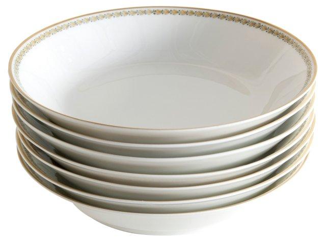 Haviland Soup Bowls, S/7