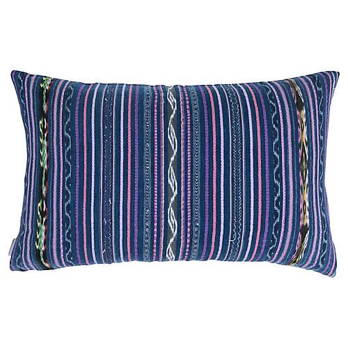 1970s Guatemalan Lumbar Pillow
