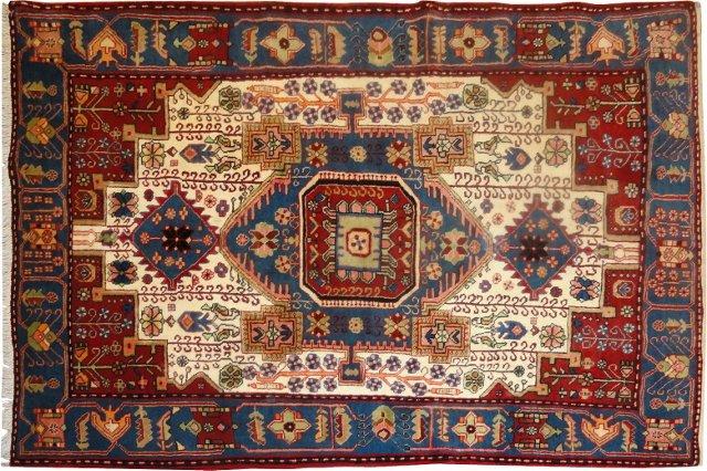 """Persian Nahavand, 4'8"""" x 6'"""