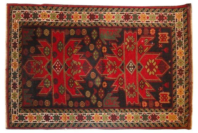 Afghan Baluch,  5' x 3'