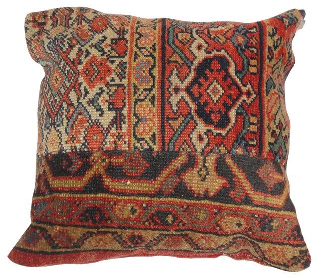 Pillow w/ Patchwork