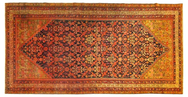 "Antique Malayer, 11'5"" x 5'9"""