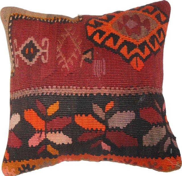 Pillow w/ Bessarabian Kilim