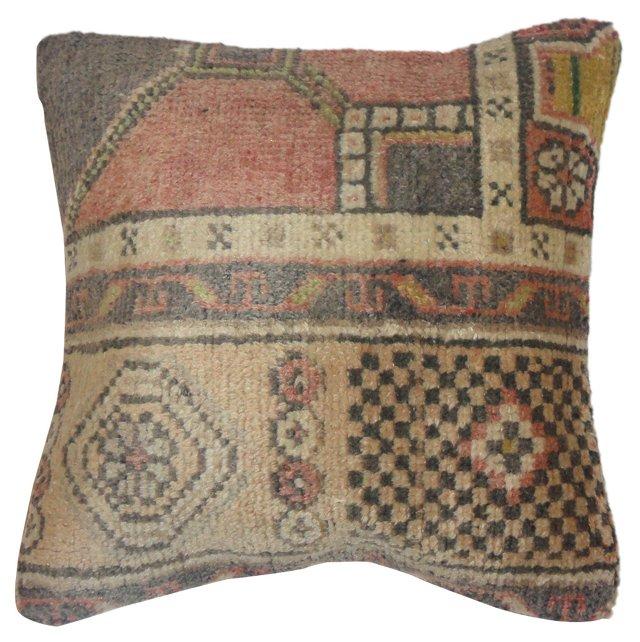 Multicolor   Oushak  Pillow