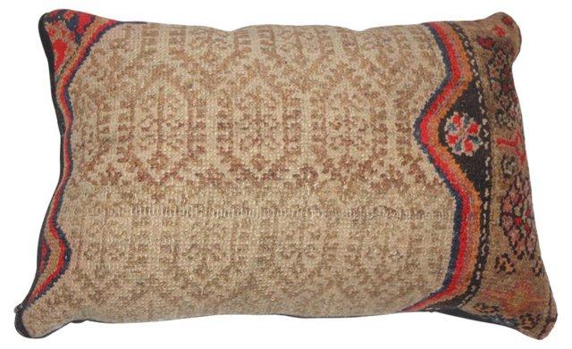 Pillow w/ Antique Persian    Sarab