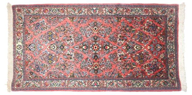 """Persian Sarouk, 4' x 2'3"""""""