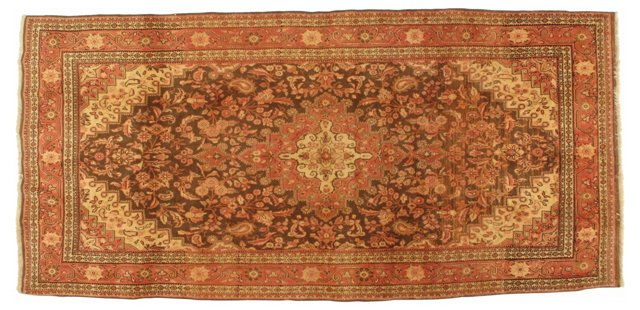 "Persian Malayer Rug, 10'7"" x 5'1"""