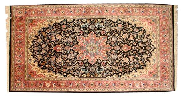 """Tabriz-Style Rug, 9'2"""" x 6'1"""""""