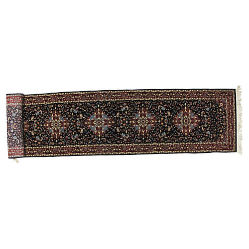 "Sino Persian Runner, 11'9"" x 2'9"""