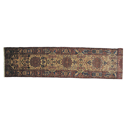 "Persian Tafresh Runner, 18'4"" x 3'1"""