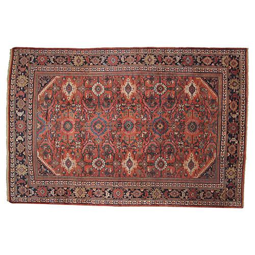 "Antique Sultanabad Rug, 10'1"" x 6'8"""