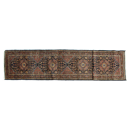 "Persian Malayer Runner, 3'1"" x 17'5"""