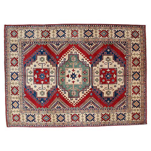 "Kazak Carpet , 12'3' x 8'10"""