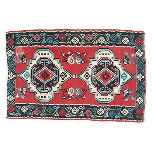 """Antique Karabagh Kilim, 6'4"""" x 10'"""