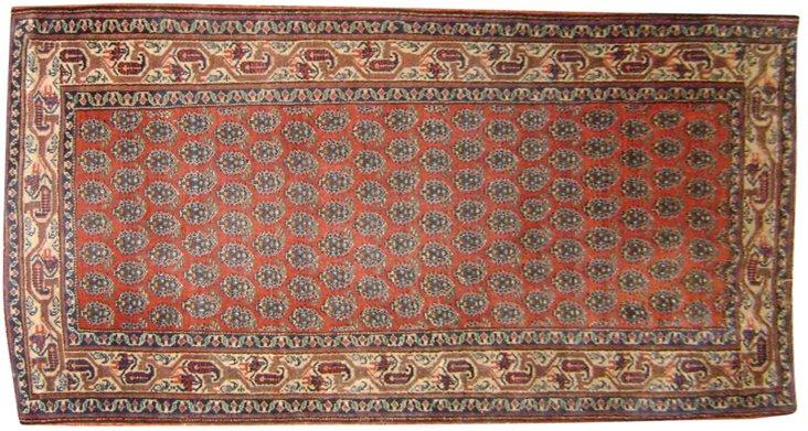 "Antique Persian Malayer, 3'6"" x 5'"