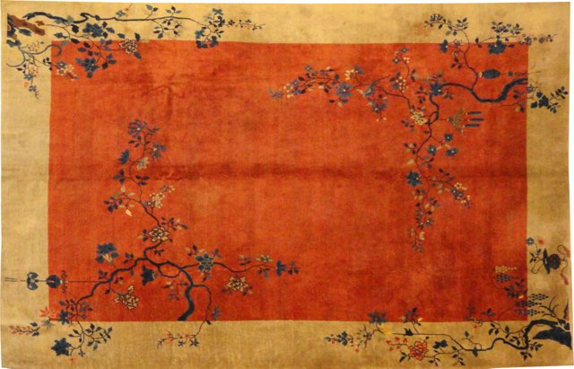 """Antique Chinese Feteh, 11'4"""" x 9'3"""""""