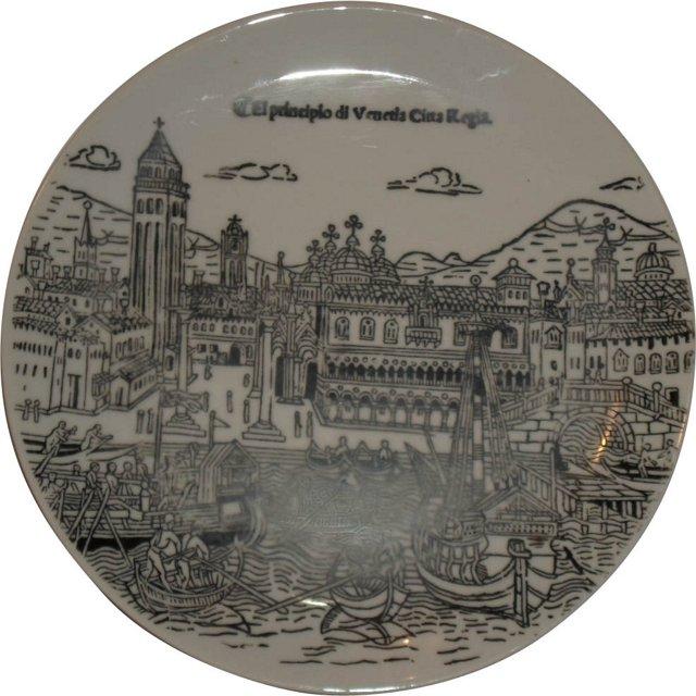 Italian Shetland Designer Plate